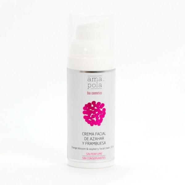 Crema facial para pieles maduras y secas sin fragancia.